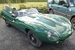 Jaguar D Type by Tribute